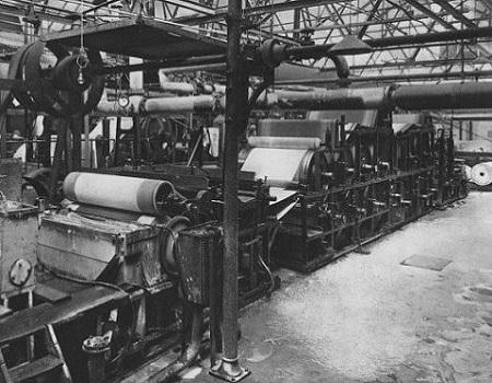 Un historique abrégé de l'industrie forestière en Estrie